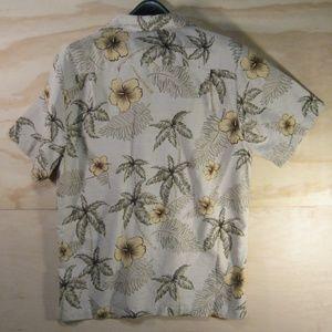 Batik Bay Hawaiian Shirt Size M 100% silk